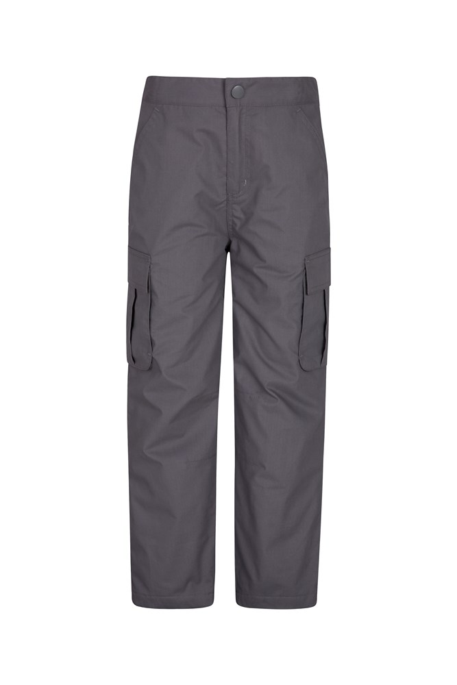 Youth Winter Trek Trousers - Grey