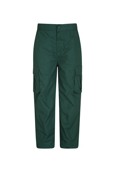 Youth Winter Trek Trousers - Green