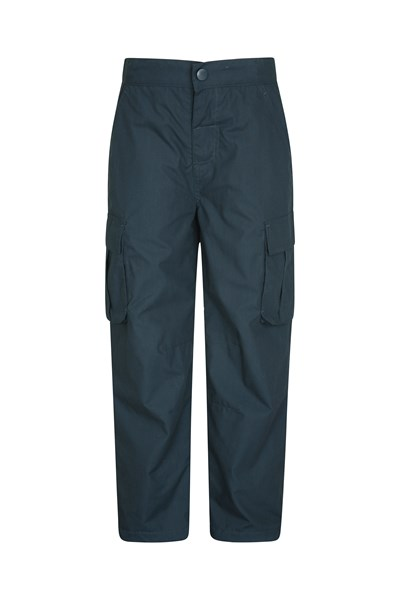 Youth Winter Trek Trousers - Navy