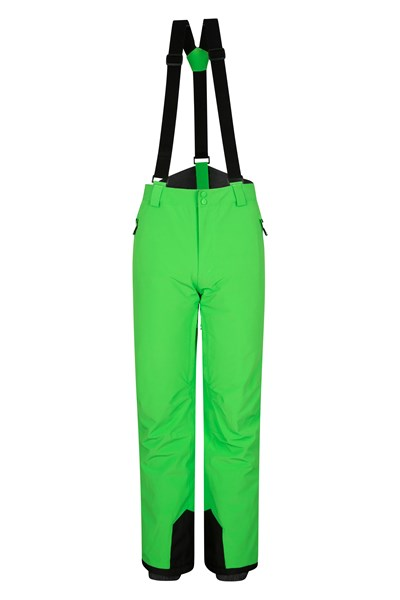 Orbit 4 Way Stretch Mens Ski Pants - Green