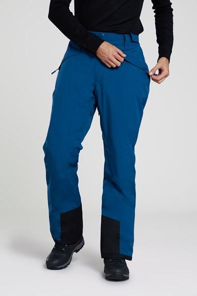 Orbit 4 Way Stretch Mens Ski Pants - Dark Grey