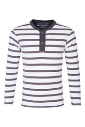 Henley Long Sleeved Kids Top