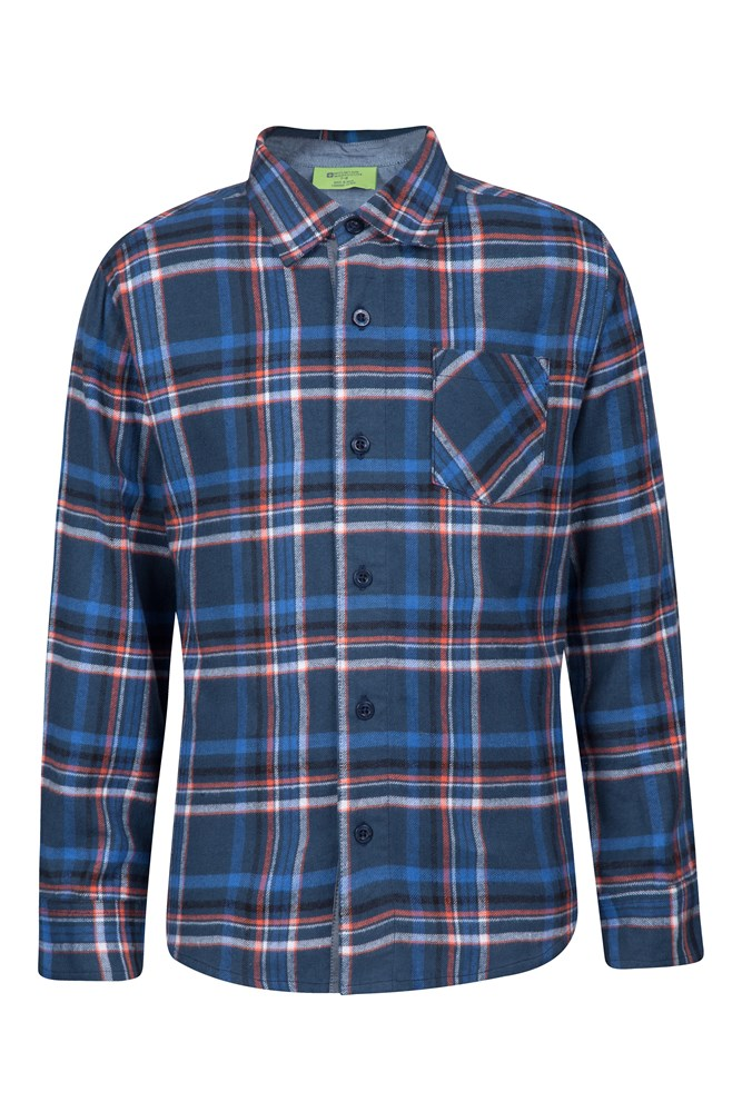 Flannel kids chambray shirt for Chambray shirt for kids