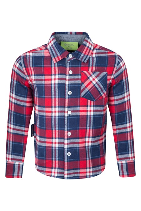 Flannel kids chambray shirt mountain warehouse us for Chambray shirt for kids