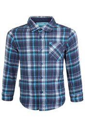 Flannel Youth Chambray Shirt