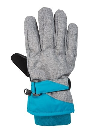 Extreme Textured Kids Ski Gloves