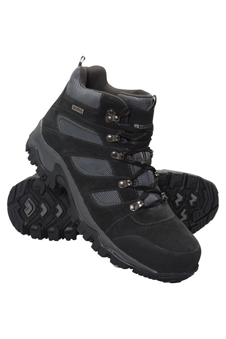 Voyage Waterproof Mens Mid Boots Mountain Warehouse Gb