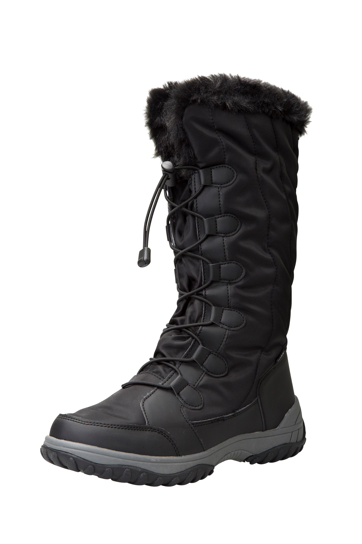 Snowbank Womens Long Snow Boots   Mountain Warehouse US
