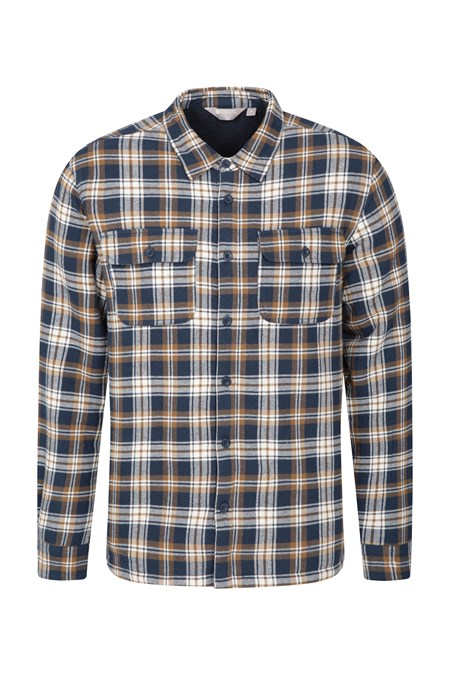 024477 STREAM BUTTON UP FLANNEL LINED SHIRT