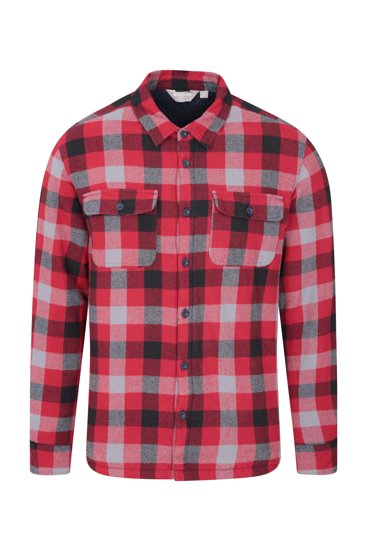 Chemise à Manches Longue Stream Flannel - Gris