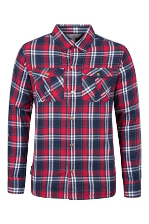 Stream Mens Flannel Lined Shirt