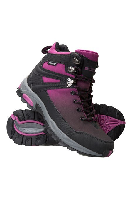 Retrieve Womens Waterproof Softshell Boots Mountain