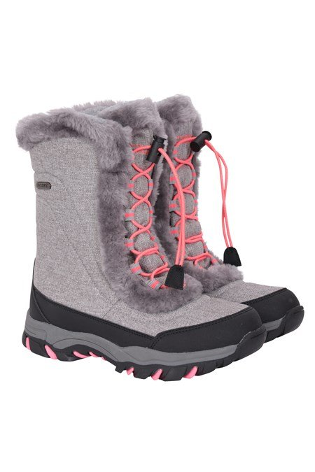 024504 OHIO KIDS FLEECE LINED SNOW BOOT