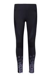 Hurricane Printed Womens Compression Tights
