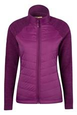 Isocool Dynamic Marble Womens Padded Jacket