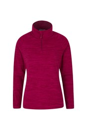 Snowdon Melange Womens Half-Zip Fleece