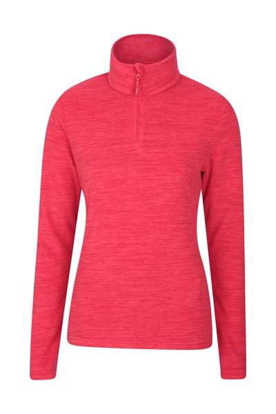 Snowdon Melange Womens Fleece - Pink