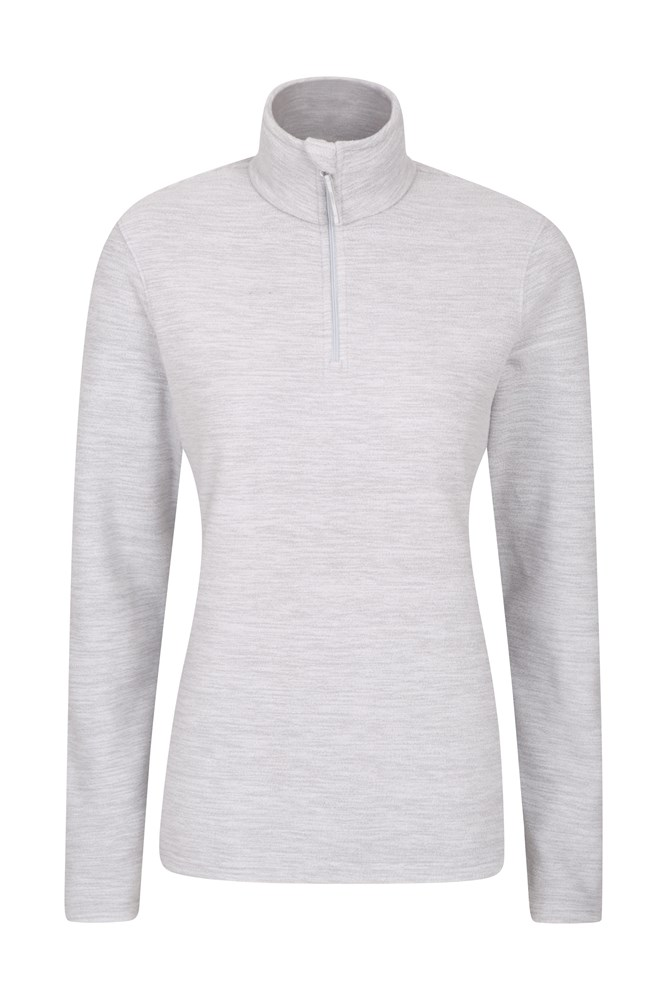 Snowdon Melange Womens Fleece - Grey