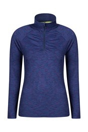 Isocool Dynamic Womens Half Zip Top