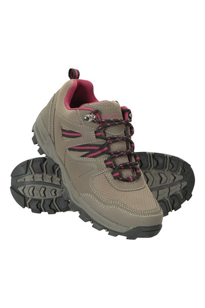 Mcleod Wide Fit Womens Walking Shoes - Brown