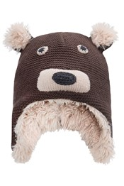 Knitted Junior Bear Hat
