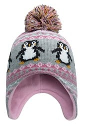 Penguin Junior Knitted Hat
