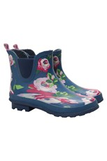 Floral Winter Ankle Wellies