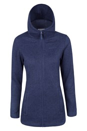 Idris Womens Long Full Zip Fleece