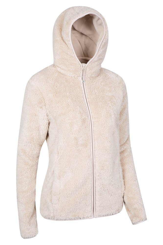 ladies cream fleece jacket outdoor jacket. Black Bedroom Furniture Sets. Home Design Ideas