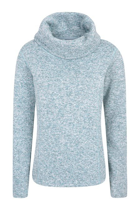 cc7d2770533da5 Idris Womens Cowl Neck Fleece | Mountain Warehouse US