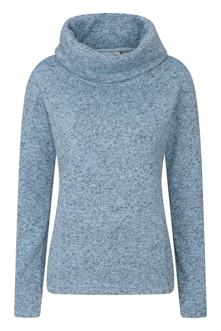 024559 IDRIS WOMENS COWL NECK FLEECE