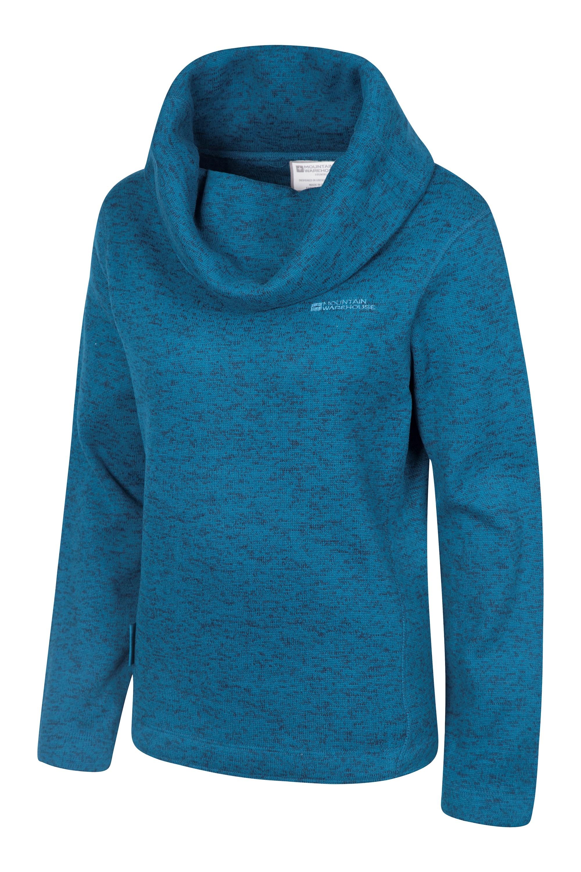 Idris Womens Cowl Neck Fleece | Mountain Warehouse GB