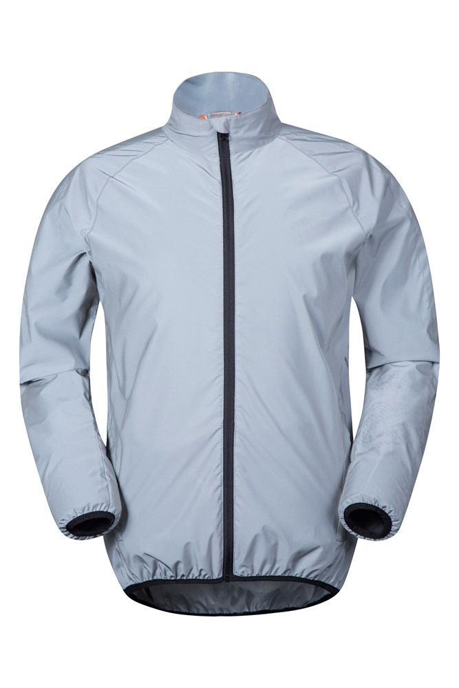 360 Reflective Mens Jacket - Silver