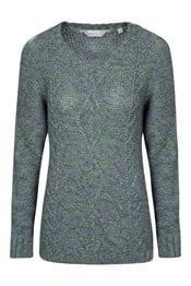 Natalia Womens Knit Top