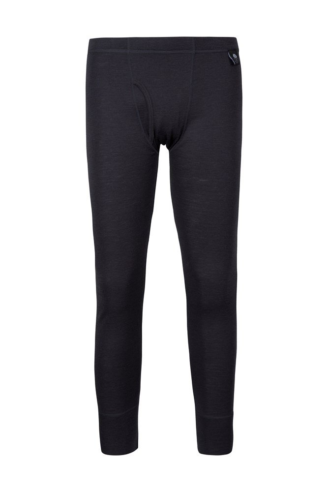 Mens Merino Pants With Fly - Grey
