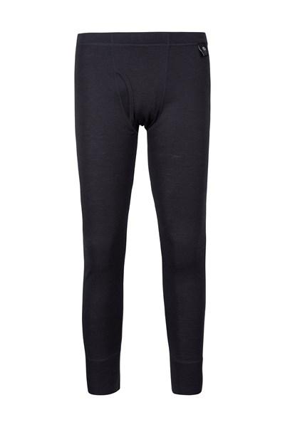 Mens Merino Pants With Fly - Grey