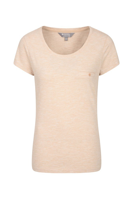 Thurlestone Striped Womens T-Shirt - Beige