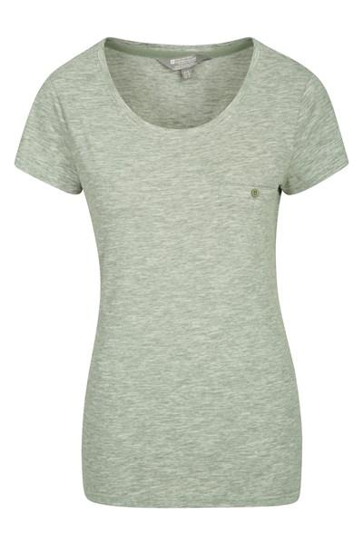 Thurlestone Striped Womens T-Shirt - Green