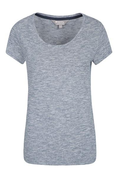 Thurlestone Striped Womens T-Shirt - Navy