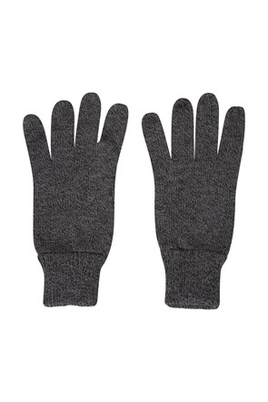 Compass Knitted Mens Gloves