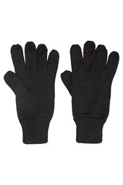 Touch Screen Mens Knitted Gloves
