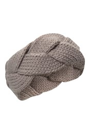 Chunky II Womens Plaited Headband