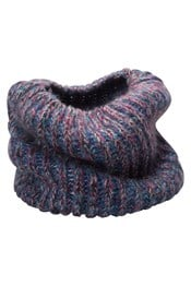 Fluffy Multi Colour Womens Snood