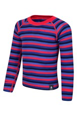 Merino Kids Stripe Round Neck Top