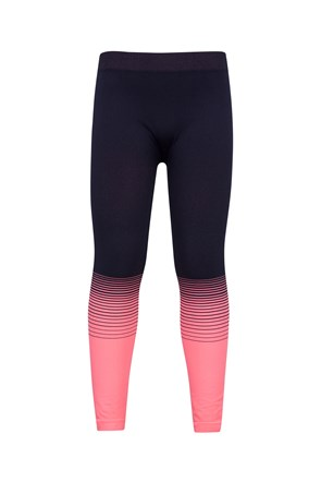 Seamless Kids Base Layer Thermal Pants