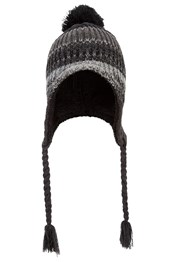 Sherpa Cable Mens Trapper Hat