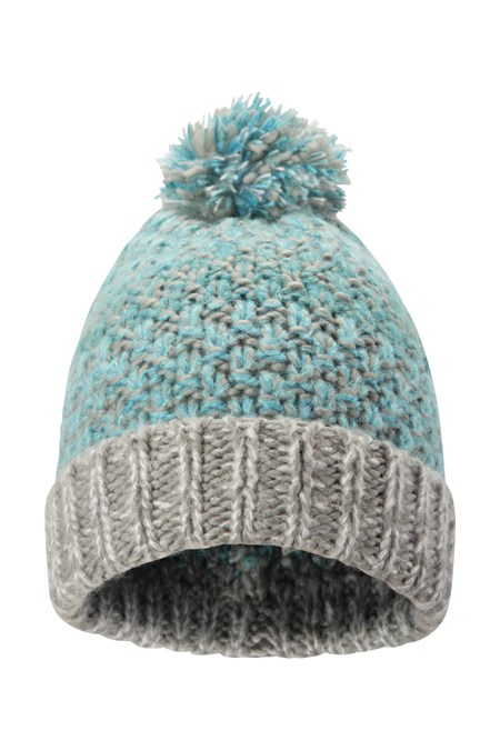 024663 MULTI COLOUR WOMENS  POM BEANIE