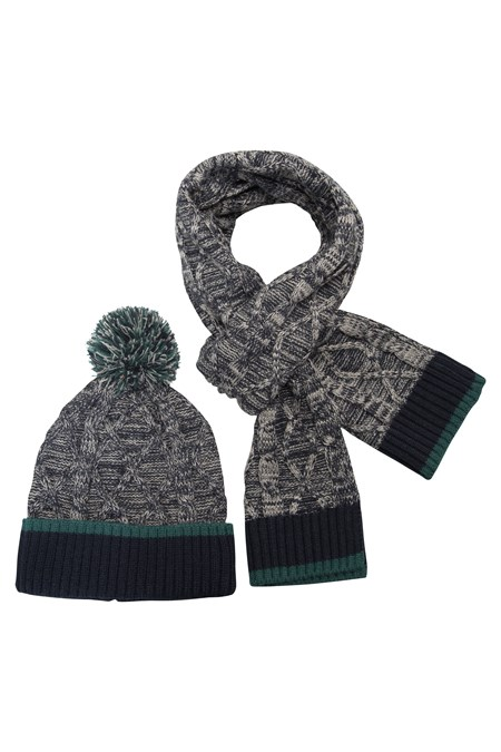 winter hats, scarves, gloves; The term