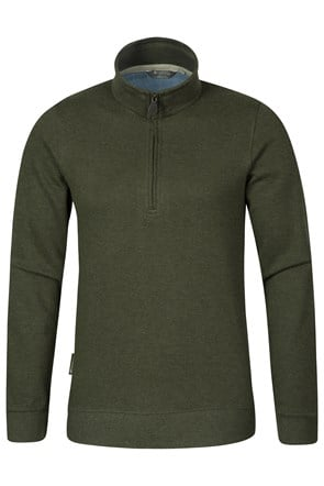 Journey Mens Zip-Neck Top