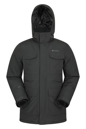 Concord Waterproof Extreme Mens Down Long Jacket